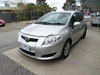 2007 Toyota Corolla ZRE152R Ascent Sterling Silver 4 Speed Automatic Hatchback.