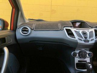 2012 Ford Fiesta WT Zetec PwrShift Orange 6 Speed Automatic Hatchback