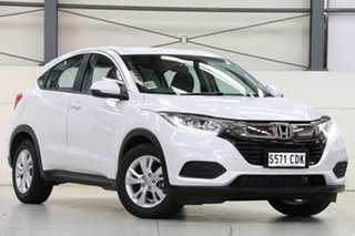2020 Honda HR-V MY21 VTi Platinum White 1 Speed Constant Variable Hatchback.
