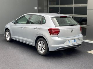 2018 Volkswagen Polo AW MY19 70TSI DSG Trendline Silver 7 Speed Sports Automatic Dual Clutch