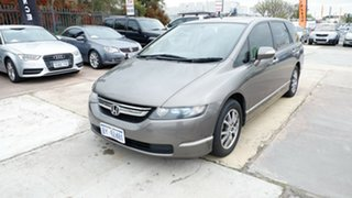 2008 Honda Odyssey 3rd Gen MY07 Luxury Brown 5 Speed Sports Automatic Wagon.