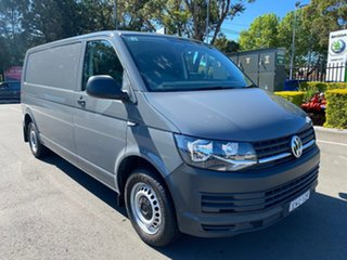 2019 Volkswagen Transporter T6 MY19 TDI340 LWB DSG Grey 7 Speed Sports Automatic Dual Clutch Van.
