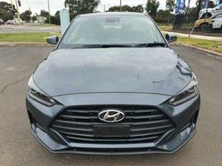 2019 Hyundai Veloster JS MY20 Coupe Grey 6 Speed Manual Hatchback.