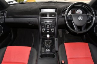 2008 Holden Commodore VE MY09 SV6 Red 6 Speed Manual Sedan