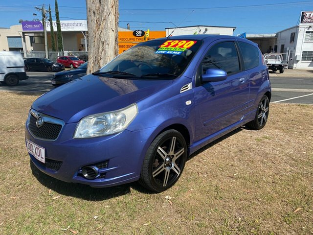 Used Holden Barina TK MY08 Clontarf, 2008 Holden Barina TK MY08 Blue 5 Speed Manual Hatchback