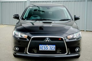 2015 Mitsubishi Lancer CJ MY15 Ralliart TC-SST Black 6 Speed Sports Automatic Dual Clutch Sedan