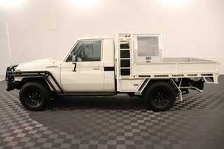 2018 Toyota Landcruiser VDJ79R Workmate White 5 speed Manual Cab Chassis