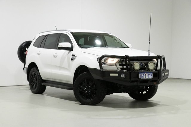 Used Ford Everest UA MY18 Trend (4WD), 2018 Ford Everest UA MY18 Trend (4WD) White 6 Speed Automatic SUV