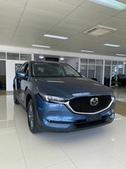 2020 Mazda CX-5 Touring Blue 6 Speed Automatic Wagon.