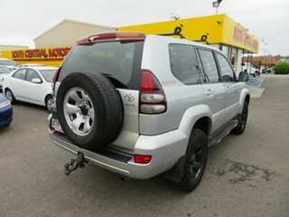 2008 Toyota Landcruiser Prado GRJ120R 07 Upgrade GX (4x4) Silver 5 Speed Automatic Wagon