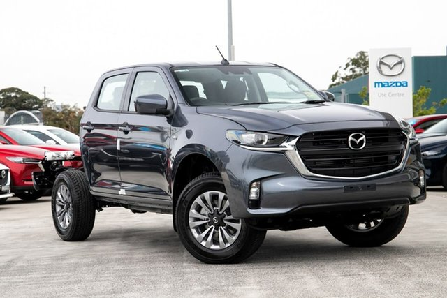 New Mazda BT-50 B30B XT (4x4) Kirrawee, 2020 Mazda BT-50 B30B XT (4x4) Rock Grey 6 Speed Automatic Dual Cab Chassis