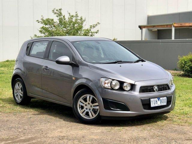 Used Holden Barina TM Templestowe, 2011 Holden Barina TM Grey 6 Speed Automatic Hatchback