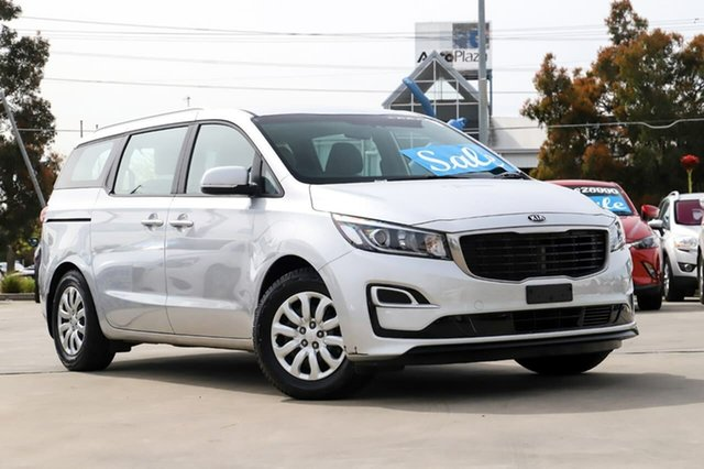 Used Kia Carnival YP MY19 S Kirrawee, 2018 Kia Carnival YP MY19 S Silver 8 Speed Sports Automatic Wagon