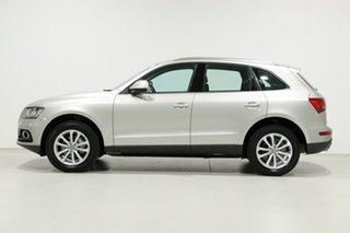 2013 Audi Q5 8R MY13 2.0 TDI Quattro Silver 7 Speed Auto Dual Clutch Wagon