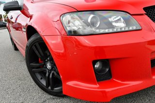 2008 Holden Commodore VE MY09 SV6 Red 6 Speed Manual Sedan.