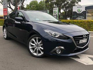 2014 Mazda 3 BM5438 SP25 SKYACTIV-Drive GT Blue 6 Speed Sports Automatic Hatchback.