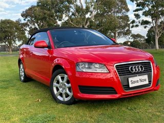2010 Audi A3 8P Attraction Red 7 Speed Sports Automatic Dual Clutch Hatchback.