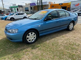 2006 Ford Falcon BF Mk II XT Blue 4 Speed Sports Automatic Sedan.