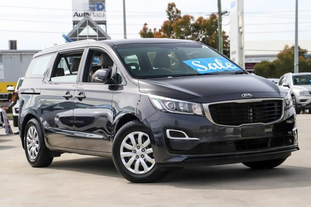 Used Kia Carnival YP MY19 S Kirrawee, 2018 Kia Carnival YP MY19 S Grey 8 Speed Sports Automatic Wagon