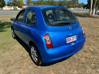 2009 Nissan Micra K12 Blue 4 Speed Automatic Hatchback