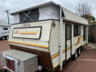 1986 Coromal Lowline Pop-top.