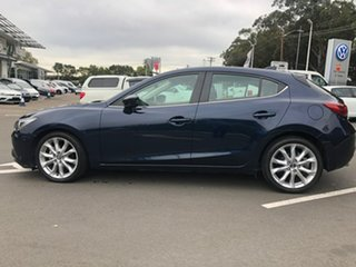 2014 Mazda 3 BM5438 SP25 SKYACTIV-Drive GT Blue 6 Speed Sports Automatic Hatchback