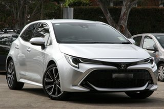 2019 Toyota Corolla Mzea12R ZR Silver Pearl 10 Speed Constant Variable Hatchback.