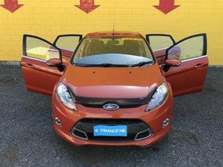 2012 Ford Fiesta WT Zetec PwrShift Orange 6 Speed Automatic Hatchback.
