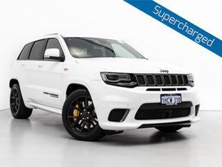 2018 Jeep Grand Cherokee WK MY18 Trackhawk (4x4) White 8 Speed Automatic Wagon.