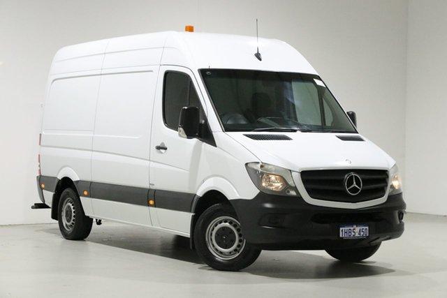 Used Mercedes-Benz Sprinter 906 MY14 313CDI MWB, 2014 Mercedes-Benz Sprinter 906 MY14 313CDI MWB White 7 Speed Automatic Van