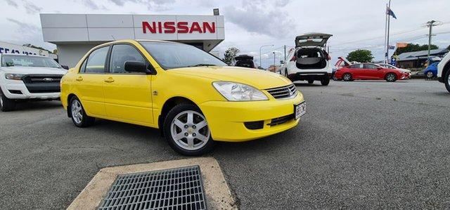 Used Mitsubishi Lancer CH MY07 ES, 2007 Mitsubishi Lancer CH MY07 ES Yellow 5 Speed Manual Sedan