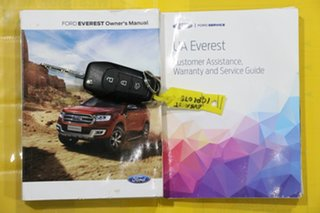 2018 Ford Everest UA MY18 Trend (4WD) White 6 Speed Automatic SUV