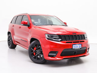 2018 Jeep Grand Cherokee WK MY18 SRT (4x4) Red 8 Speed Automatic Wagon.