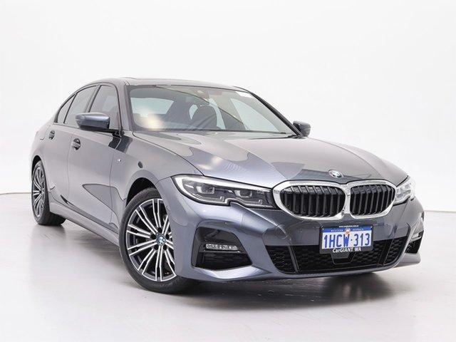 Used BMW 320d F30 LCI M Sport, 2019 BMW 320d F30 LCI M Sport Grey 8 Speed Auto Steptronic Sport Sedan