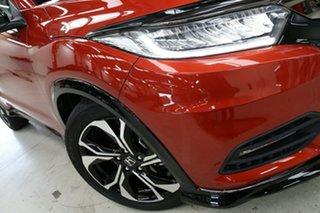 2020 Honda HR-V MY21 RS Phoenix Orange 1 Speed Constant Variable Hatchback.
