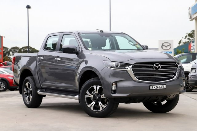 Demo Mazda BT-50 B30B XTR (4x2) Kirrawee, 2020 Mazda BT-50 B30B XTR (4x2) Concrete Grey 6 Speed Automatic Dual Cab Pick-up