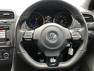 2011 Volkswagen Golf VI MY12 R 4MOTION White 6 Speed Manual Hatchback