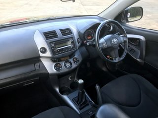2008 Toyota RAV4 ACA33R MY08 Cruiser Black 5 Speed Manual Wagon