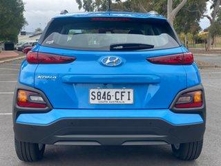 2020 Hyundai Kona OS.3 MY20 Active 2WD Blue Lagoon 6 Speed Sports Automatic Wagon.