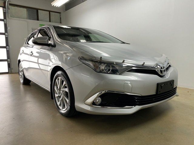 Used Toyota Corolla ZRE182R MY17 Ascent Sport, 2018 Toyota Corolla ZRE182R MY17 Ascent Sport Silver 7 Speed CVT Auto Sequential Hatchback