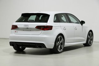 2016 Audi RS 3 8V Sportback Quattro White 7 Speed Auto Dual Clutch Hatchback