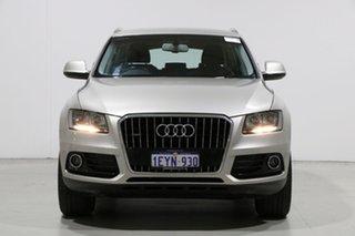 2013 Audi Q5 8R MY13 2.0 TDI Quattro Silver 7 Speed Auto Dual Clutch Wagon.