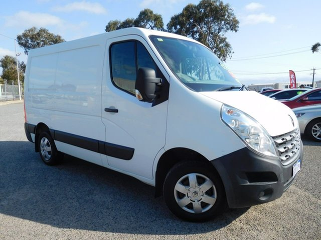 Used Renault Master X62 Mid Roof MWB AMT Wangara, 2014 Renault Master X62 Mid Roof MWB AMT White 6 Speed Sports Automatic Single Clutch Van