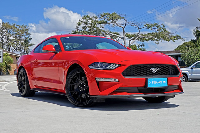 Used Ford Mustang FN 2019MY High Performance, 2018 Ford Mustang FN 2019MY High Performance Race Red 6 Speed Manual Fastback