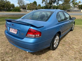 2006 Ford Falcon BF Mk II XT Blue 4 Speed Sports Automatic Sedan