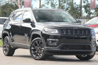 2020 Jeep Compass M6 MY20 S-Limited Brilliant Black 9 Speed Automatic Wagon.