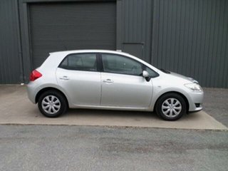 2007 Toyota Corolla ZRE152R Ascent Sterling Silver 4 Speed Automatic Hatchback