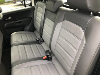 2019 Volkswagen Amarok 2H MY20 TDI580 4MOTION Perm Highline Black White 8 Speed Automatic Utility