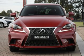 2016 Lexus IS GSE31R IS350 F Sport Red 8 Speed Sports Automatic Sedan