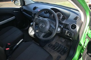 2011 Mazda 2 DE MY10 Neo Green 4 Speed Automatic Hatchback